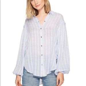 NWT Free People Blouse size XS